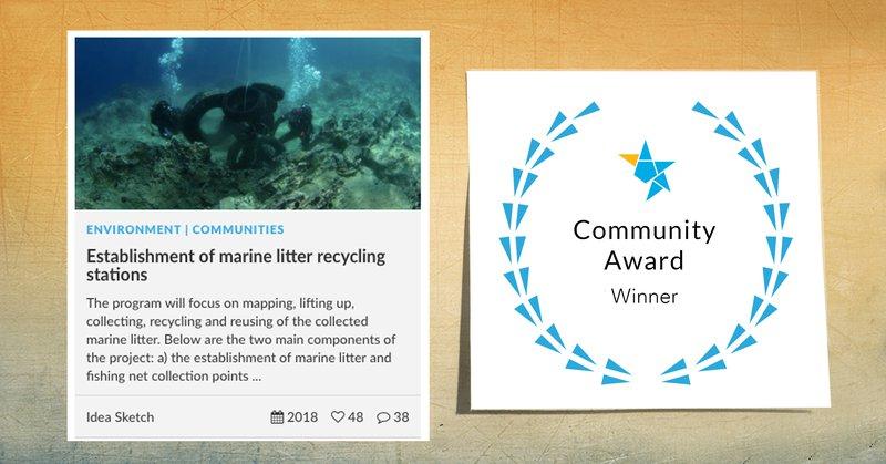 Community Award Winner