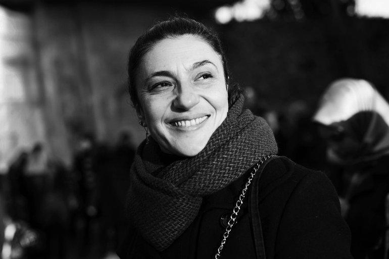 Gülsüm Kav, photo by Özge Sebzeci